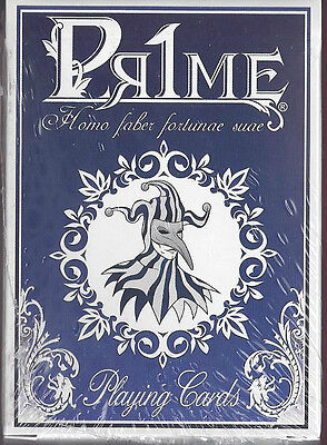 1 DECK Pr1me (Prime) BLUE playing cards from Italy