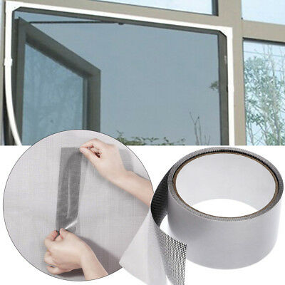 Fly Screen Door Insect Repellent Repair Tape Waterproof Mosquito Screen Cover US