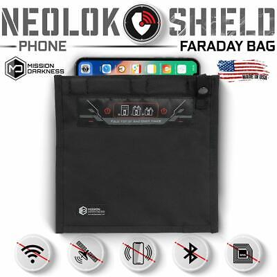 Mission Darkness NeoLok Non-window Faraday Bag for Phones (Magnetic Closure)
