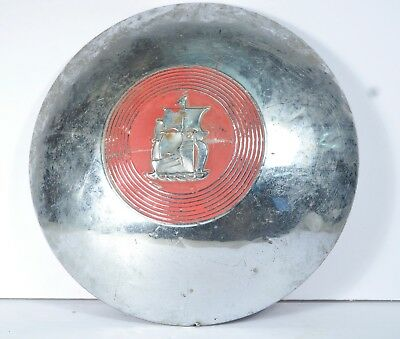 Vintage Plymouth Dog Bowl Hubcap 1951-1952 Car Truck Auto