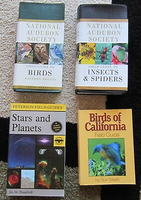 National Audubon Society Field Guide To Insects & Spiders + Field Guide To Birds