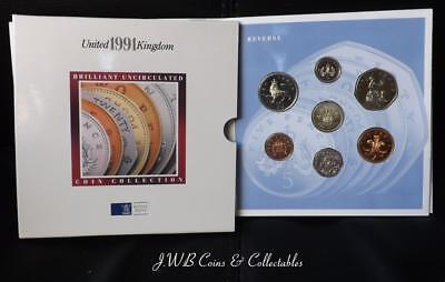 1991 The United Kingdom Brilliant Uncirculated Coin Collection.