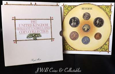1987 The United Kingdom Brilliant Uncirculated Coin Collection