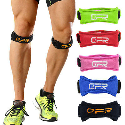 Knee Support Brace Patella Arthritis Strap Pain Relief Gym Compression Sleeve HT