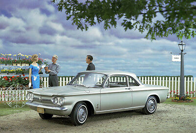 Chevrolet Corvair Concept Car Promotional Advertising Poster