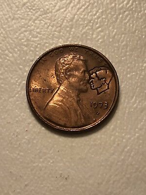 1973 COMMEMORATIVE LINCOLN-KENNEDY Etched Penny - Loose With Card