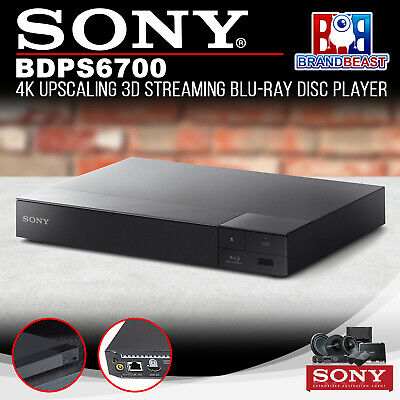 Sony Bdps6700 4K Upscale Blu Ray Player W Multi Room