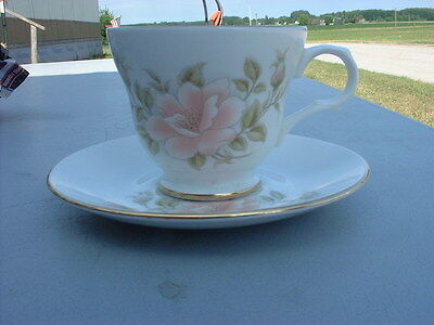 Crown Trent Fine Bone China Cup & Saucer
