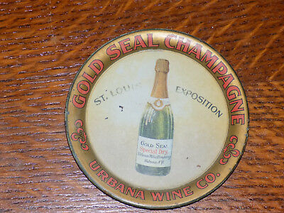 Gold Seal Champagne Tip Tray