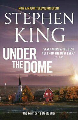 Under the Dome TV Tie in by King  Stephen Book The Cheap Fast Free Post
