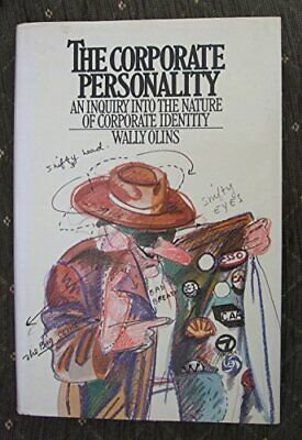 Corporate Personality by Olins, Wally Hardback Book The Cheap Fast Free Post