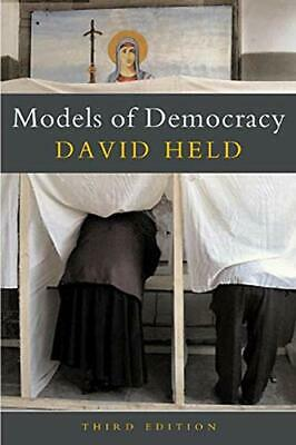 Models of Democracy by Held, David Paperback Book The Cheap Fast Free Post