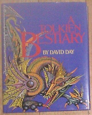 A Tolkien Bestiary by Day, David Book The Cheap Fast Free Post