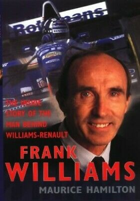 Frank Williams by Hamilton, Maurice Hardback Book The Cheap Fast Free Post