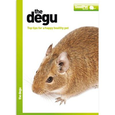 The Degu - Good Pet Guide by Various Book The Cheap Fast Free Post