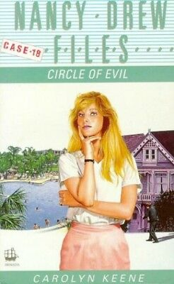 Circle of Evil (Nancy Drew Files) by Keene, Carolyn Paperback Book The Cheap