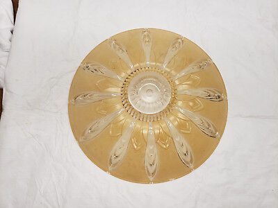 Antique Cut Glass Ceiling Light Shade