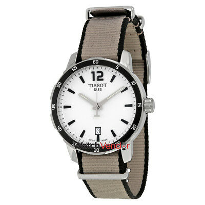 Tissot Quickster Silver Dial Men's Watch T0954101703700