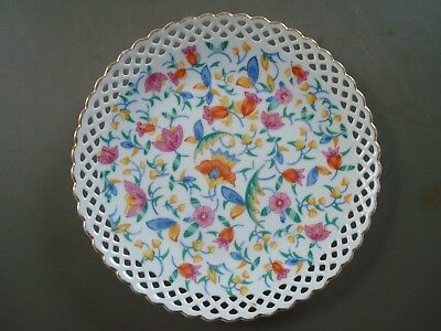 """Vintage Hand Painted Plate, Germany 7 1/2"""""""
