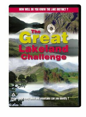 The Great Lakeland Challenge Quiz [DVD] - DVD  A2VG The Cheap Fast Free Post