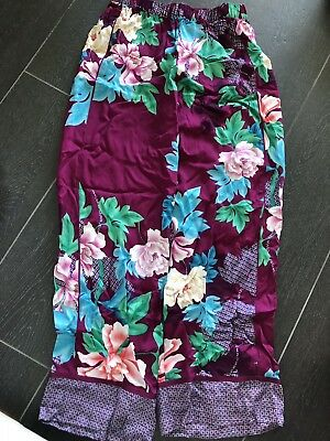 BNWT PETER ALEXANDER Pyjamas Regal Wallpaper Sleep Pants S RRP$79.95