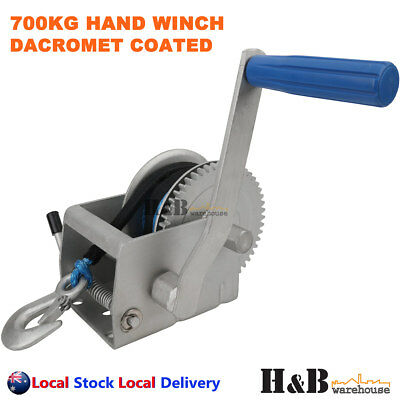 700KG Hand Winch Dyneema Rope 6mm X 10M Winch Rope Marine Boat Trailer