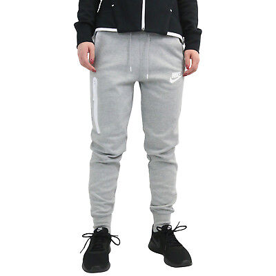 6b3d479b9545 Nike Sportswear Tech Fleece Jogginghose Traingshose Damen Grau 931828 063