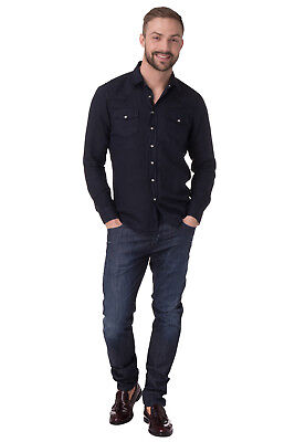 086afd70515 New Mens Jeans LIU JO UOMO Distressed Made in Italy Size 31 / S BASICSUMMER  SS17
