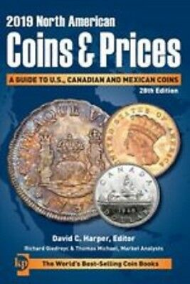 2019 North American Coins & Prices, 28th Edition - Krause Book, NEW!!!