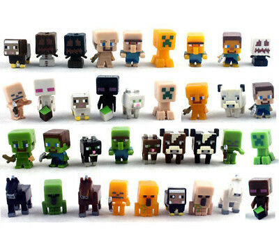 36pcs/lot Minecraft More Characters Action Figure Child Toys Cute Gift 1 Series