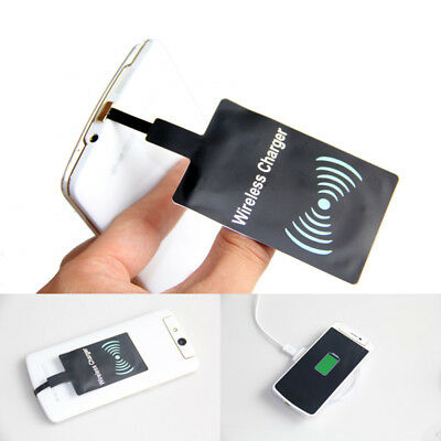 QI Wireless Charging Charger Receiver Module Pad for Micro-USB Universal Mobile