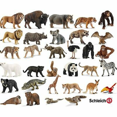 Schleich Animals Wild Life Sea Zoo Life Model Figures Accessory Assortment Pack