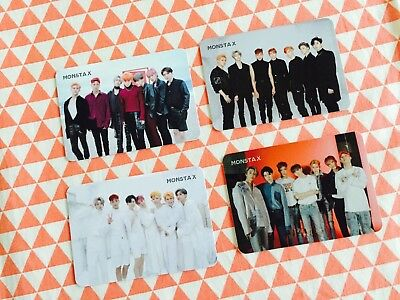 Monsta X 2nd album are you there ? ( take 1) Shoot out Group photocard