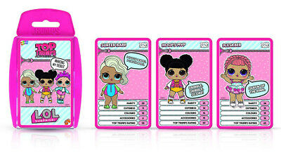 LOL Surprise TOP TRUMPS - Card Game - L.O.L Dolls