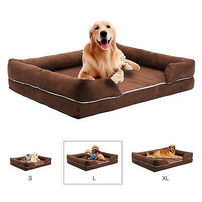 CO-Z Pet Sofa Bed, Comfortable Couch Bed, Memory Foam Mattress for Pets Dog Cat