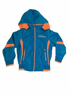New Boys Light Summer Jacket With Hood, Size 4, 6, 8, 10, 12 & 14  years