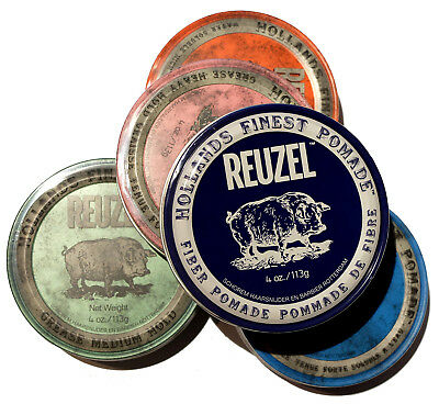 Reuzel Pomades 4 oz /113 ml or 1.3 oz /35 ml Choose THE BEST One for Your Needs