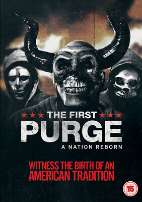 The First Purge DVD (2018) Marisa Tomei ***NEW***