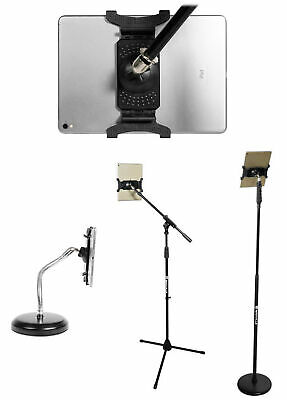 Rockville IPS22 Smartphone/Tablet Mount - Screws In To any Mic Stand or Boom Arm