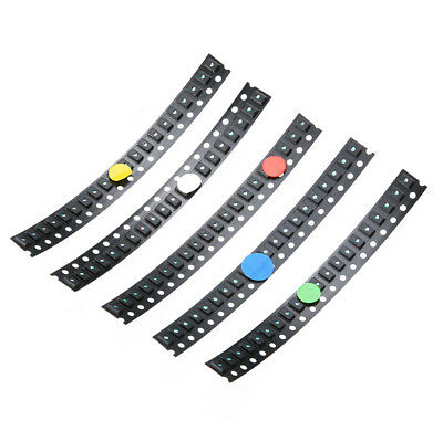 100 PCS 1206 SMD SMT LED Red Green Blue Yellow White Light Super Bright LED AHS
