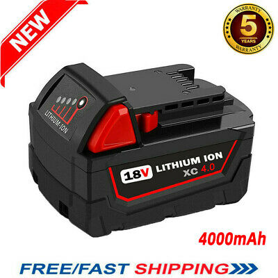 Replacement For Milwaukee M18 48-11-1852 48-11-1850 18Volt 3.0AH Li-ion Battery