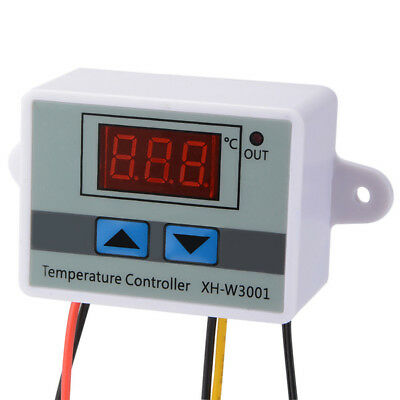 Temperature Controller with Probe Motors Drives LED Switch LCD display Large