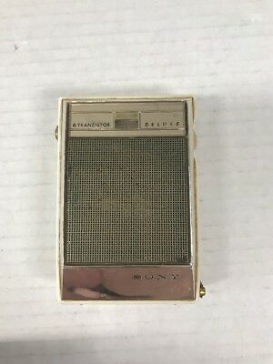 Vintage 1962 Sony TR-630 Transistor Radio, 6 Transistors, Japan - Parts/Repair
