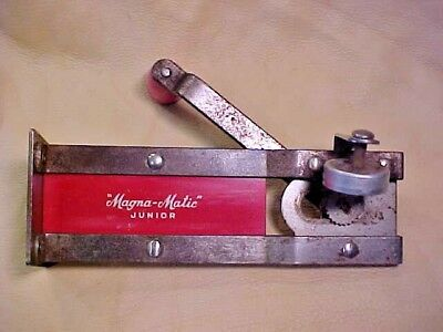 Vintage Red Magna Matic Junior Can Opener Magna-Matic