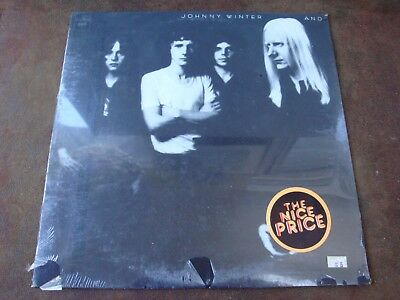 Vintage Johnny Winter- And Vinyl LP Record Album (1970) SEALED