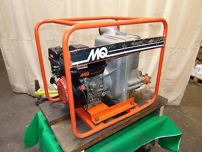 """MultiQuip Contractor Grade 2"""" Inlet & Outlet Honda Gas Engine Trash Water Pump"""