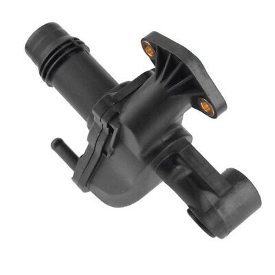 Water Outlet Pipe LR073372 durable Cooling system Black replacement Thermostat