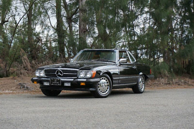 1989 Mercedes-Benz 560 Series 560 Series 2dr Coupe 560SL Roadster 1989 Mercedes Benz SL560, 18600 miles,Flawless Palomino Leather,Blk Soft & Hardt