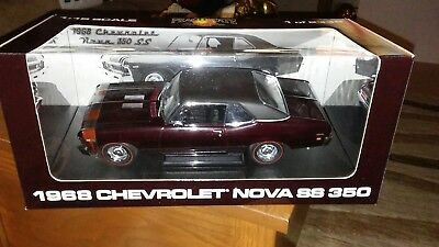 PEACHSTATE by GMP 1968 CHEVY NOVA SS 350 MAROON 1:18 scale,1 of 2335,New in Box
