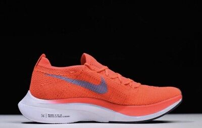 NIKE ZOOM VAPORFLY 4% Flyknit Bright Crimson Mens Womens Running ... f442a674a